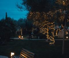 Casale San Nicola - Coreografie luminose