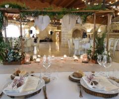 Antica Masseria Martuccio - Dal tavolo degli sposi