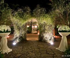 Villa Vergine - Allestimento dell'entrata della villa