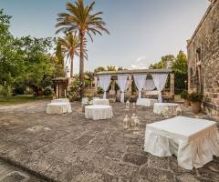 Masseria San Lorenzo - Gli spazi all'aperto