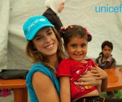 Elisabetta Canalis ambasciatrice UNICEF per il suo matrimonio
