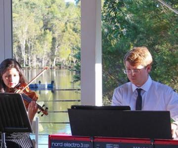 Marco e Francesca pianista e violinista