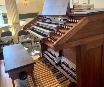 Davide organista per matrimoni