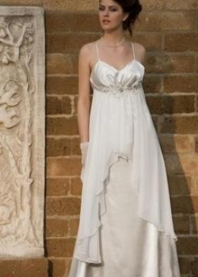 Vestito da sposa a sottoveste