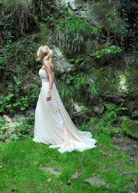 Vestito da sposa con strascico - Collezione Princesses