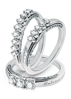 Anelli di fidanzamento e anniversario con diamanti
