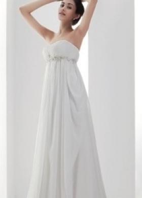 Splendido abito da sposa in stile impero