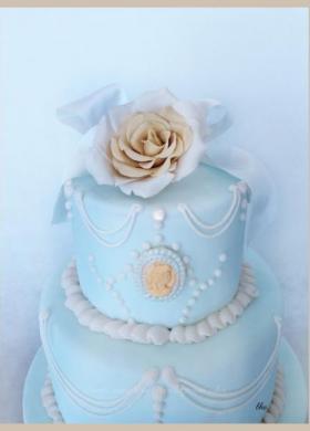Torte nuziali blu