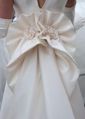 Fiocco posteriore dell'abito da sposa