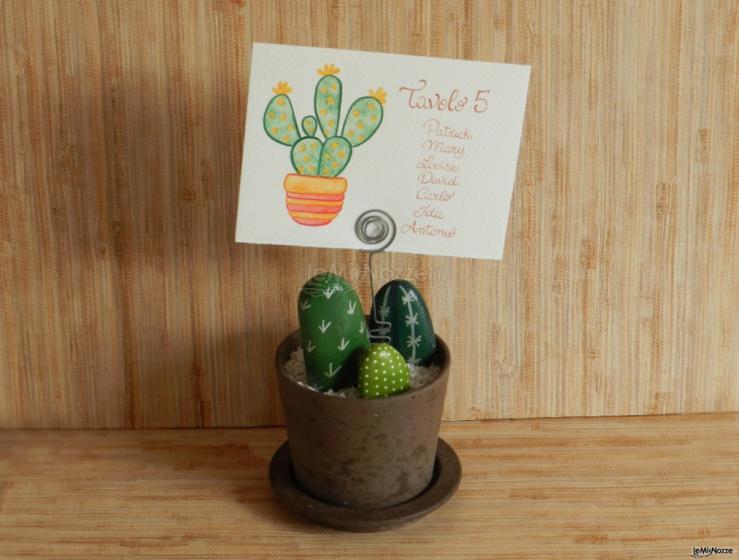 Sara Carloni Studio - Tableau cactus