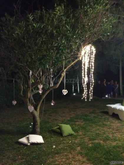 Luisa Mascolino Wedding Planner Sicilia - Decorazioni sull'albero