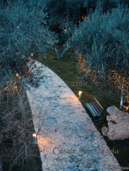 Casale San Nicola - Giochi di luci al tramonto