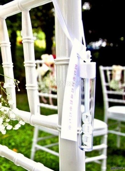 Bolle di sapone personalizzate - Tuid Wedding and Party Planner