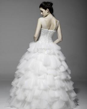 Abito da sposa dallo stile principesco