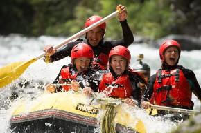 Addio al nubilato: rafting