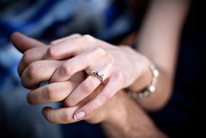 Anello di fidanzamento: solitario
