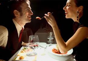 Cena romantica per l'annivaersario di matrimonio