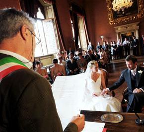 Articoli e matrimonio civile