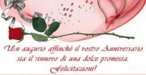 Primo Anniversario Di Matrimonio Frasi.Auguri Di Anniversario Di Matrimonio Ecco Le Frasi Piu Belle