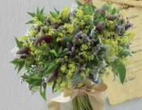 Bouquet per la sposa Bohémienne