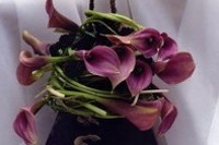 Bouquet a cestino per la sposa casual