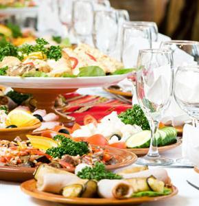 Il menù di nozze