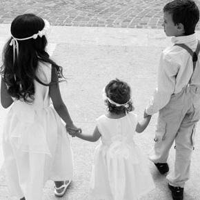I paggetti e le damigelle al matrimonio