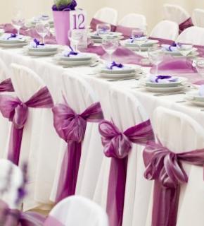 La disposizione dei tavoli