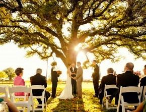 Cerimonia di nozze con pochi invitati