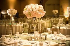 Fiori per il ricevimento di nozze