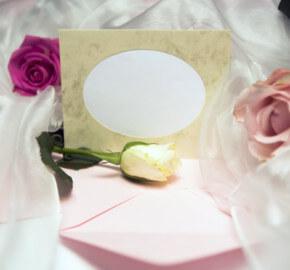 Auguri Matrimonio Immagini Gratis : Biglietto auguri carta perlata per anniversario di nozze rose