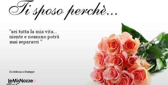 Estremamente Frasi d'amore - Dediche d'amore - LeMieNozze.it MM29