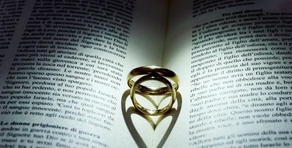 Anniversario Matrimonio Bibbia.Vangelo Del Matrimonio Lemienozze It