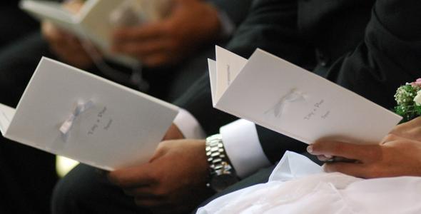 Anniversario Di Matrimonio Liturgia.Prima Lettura Del Matrimonio Lemienozze It