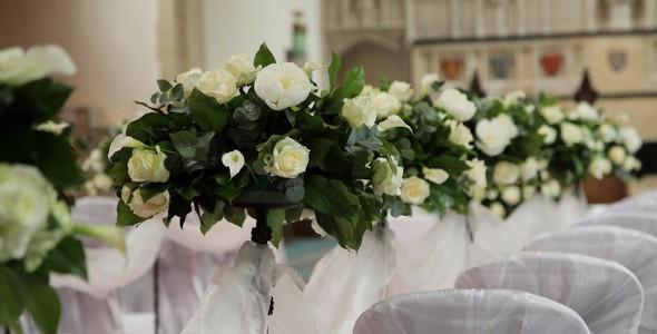 fiori chiesa matrimonio