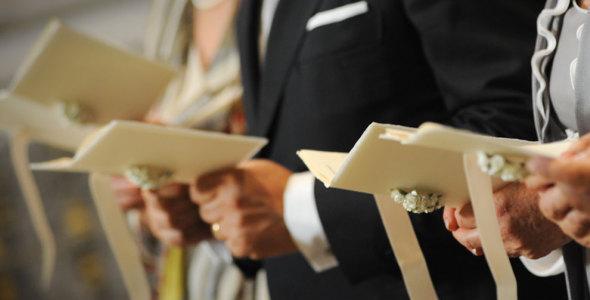 Libretti Matrimonio Rito Romano : Libretto e letture per la messa di matrimonio lemienozze