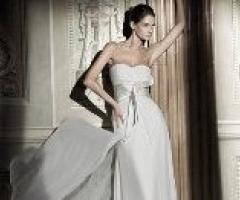 Collezione abiti da sposa 2013: va in scena la seta
