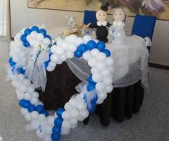 4 modi di usare i palloncini al matrimonio