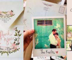 Biglietti di ringraziamento per il matrimonio: regole e bon ton