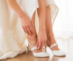 Abito e scarpe da sposa: 5 abbinamenti perfetti