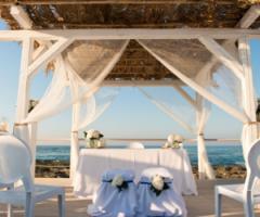Il matrimonio di classe in riva al mare