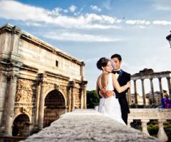 Matrimonio in un palazzo storico nel centro di Roma