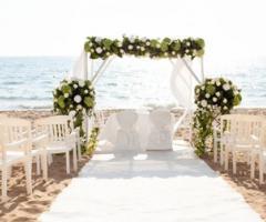 Come organizzare un matrimonio total white