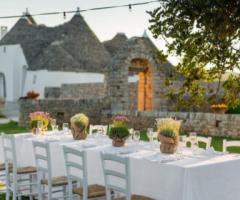 Gli allestimenti ideali per un matrimonio in campagna