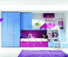 Camera per bambini con soppalco per la casa degli sposi