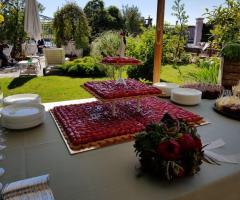 Il giardino -di Villa Lina - L'angolo del dessert