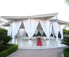 Villa Reale Ricevimenti - L'allestimento per il rito civile