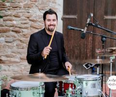 Giacomo Rocchi alla batteria