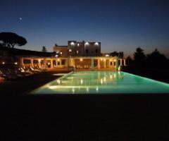 Masseria Santa Teresa - Vista panoramica notturna