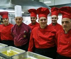 Staff della cucina di Villa Manzi - Ristorante per il matrimonio a Napoli